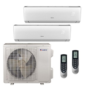 24 000 btu 21 seer ductless mini split air conditioner multi24hp203b. Black Bedroom Furniture Sets. Home Design Ideas