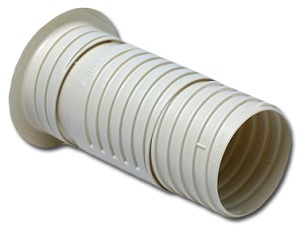 Fortress Refrigerant Line Set Wall Sleeve Telescoping Ivory Finish: NFP-75