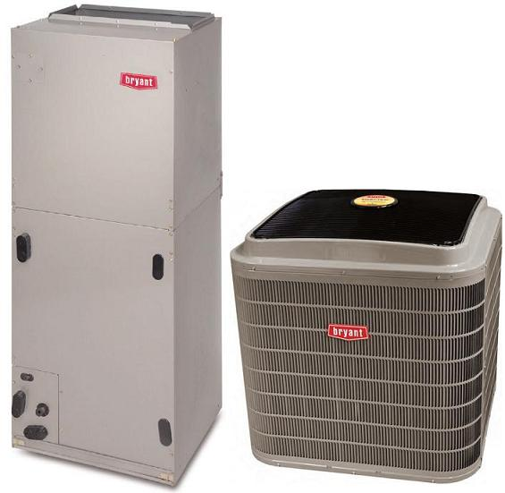 3 Ton 19 Seer Bryant Evolution Heat Pump Split System