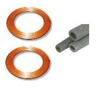 Copper Line Set for 1.5 Ton - 2.5 Ton Systems 50' - CT38X50OD - CT34X50OD - 6RX048068
