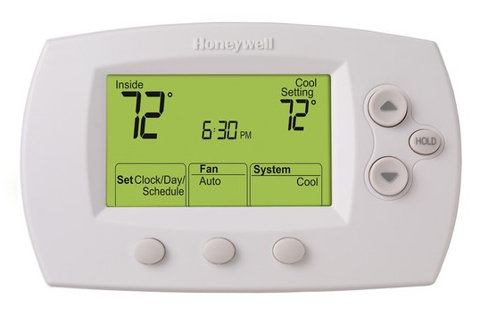 Honeywell Visionpro 6000 Programmable Thermostat 2h 2c